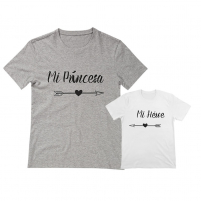 camisetas para papi e hijo