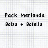 Pack Merienda bolsa mas botella