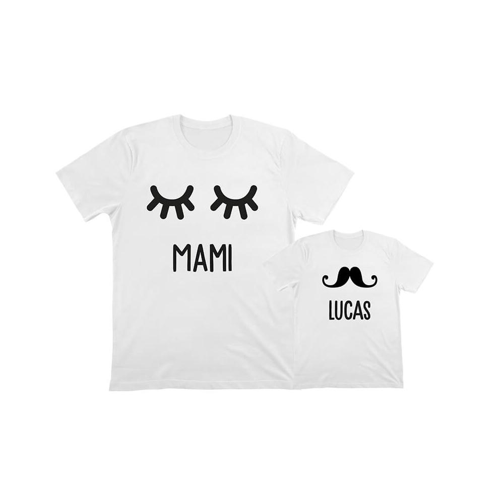 camiseta personalizada mamá e hijo