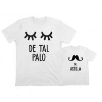 camisetas personalizadas iguales palo astilla