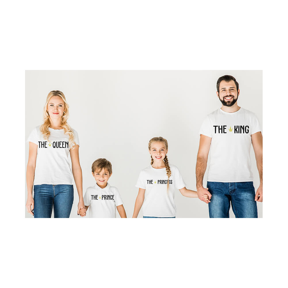 venta minorista f899b ecde4 Camista Personalizada Familiar King   Vestir igual toda la Familia