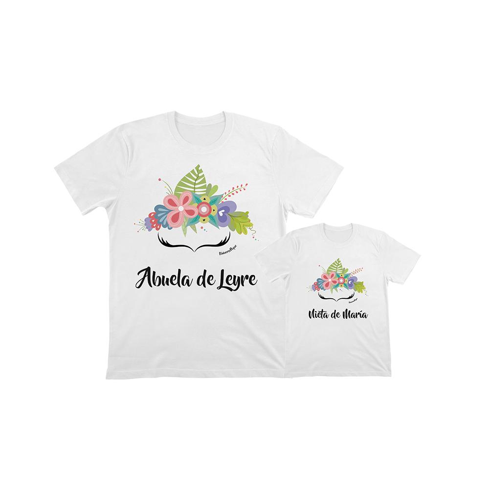 camiseta personalizada frida para la abuela