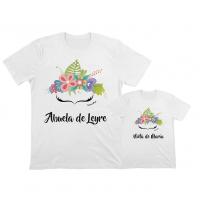 camisetas iguales para abuela y nieta