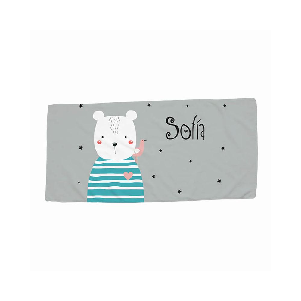 toalla oso para personalizar