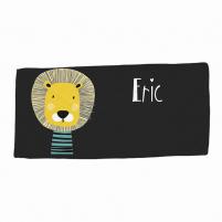 toalla personalizada diseño león
