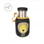 Botella Acero Personalizada León Negro