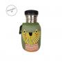 botella de acero leon