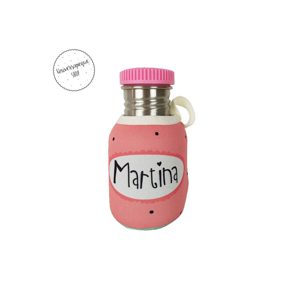 Botella Acero Personalizada Ratita trasera