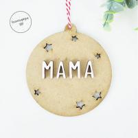 bola navidad personalizada Mama
