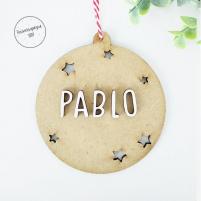 Bola Navidad Personalizada Pablo