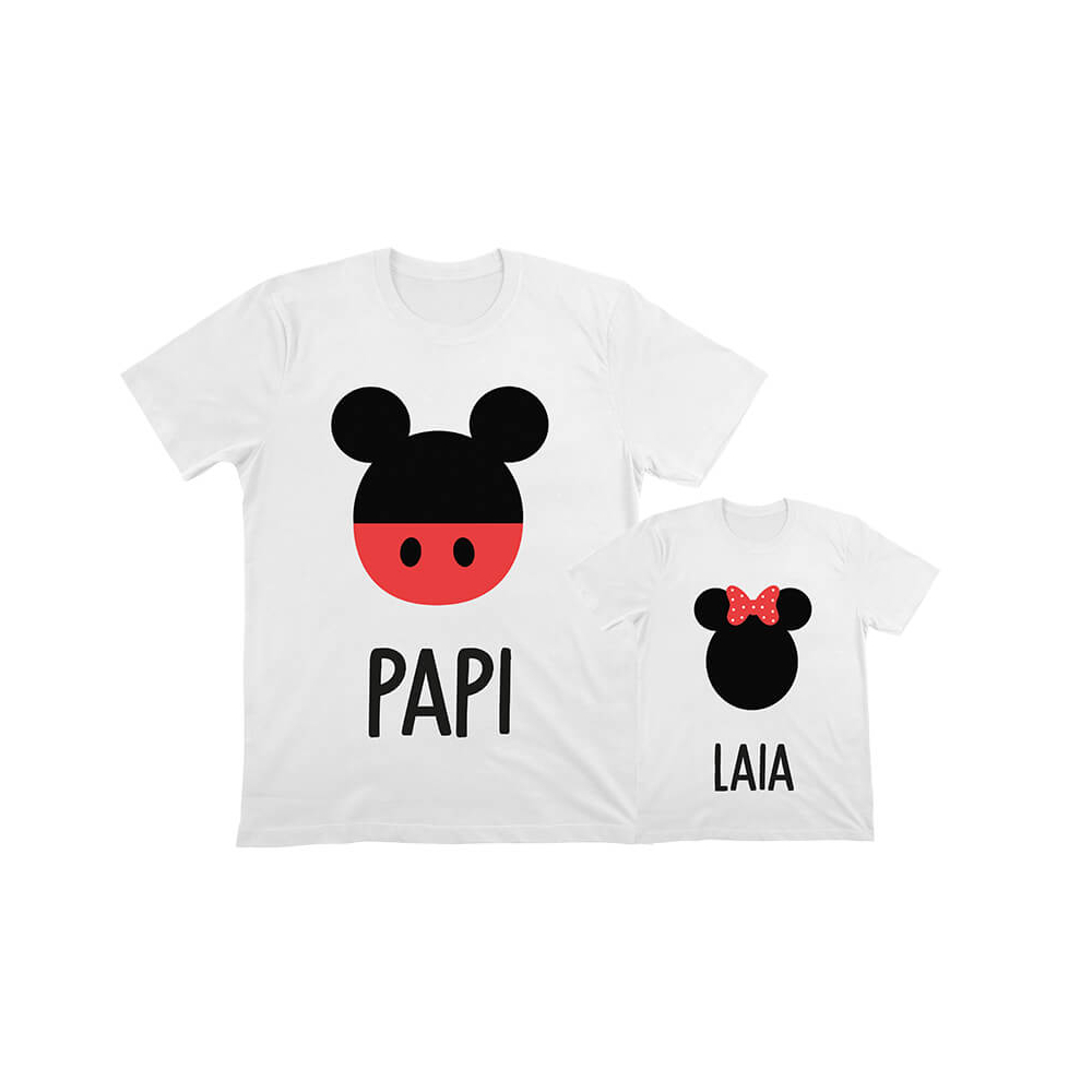 camisetas iguales mickey minnie