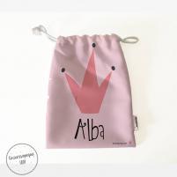 Pack Bolsas Merienda Personalizadas Reina