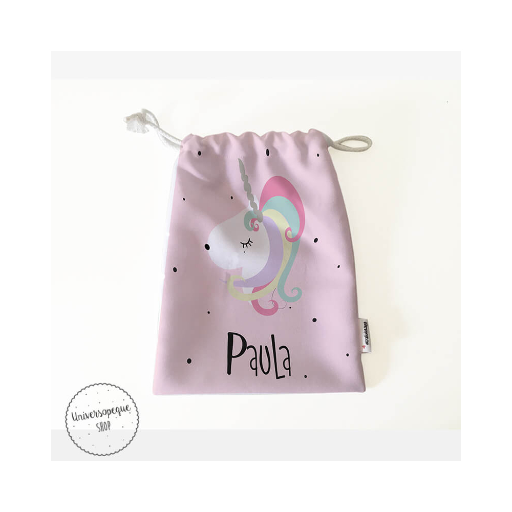 Pack Bolsas Merienda Personalizadas Unicornio