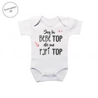 Body Personalizado Top, regalos para bebés y papis