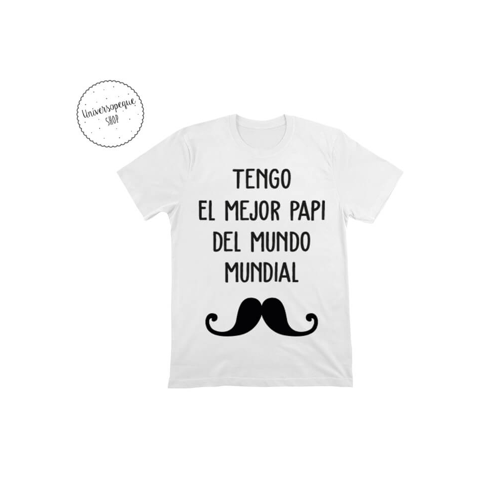 Camiseta Personalizada para niñ@s Bigote
