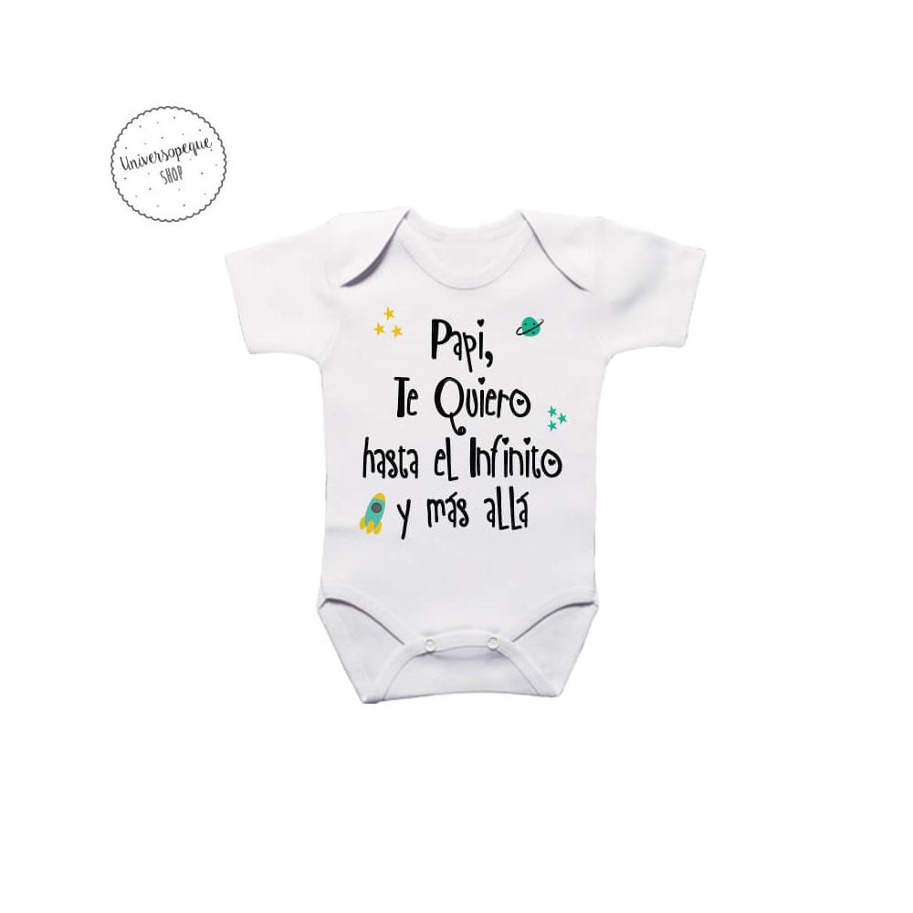 Body Personalizado Te Quiero Papá para vestir a tu bebé