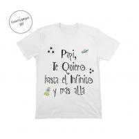 Camiseta Personalizada Te Quiero Papá para los más pequeñitos