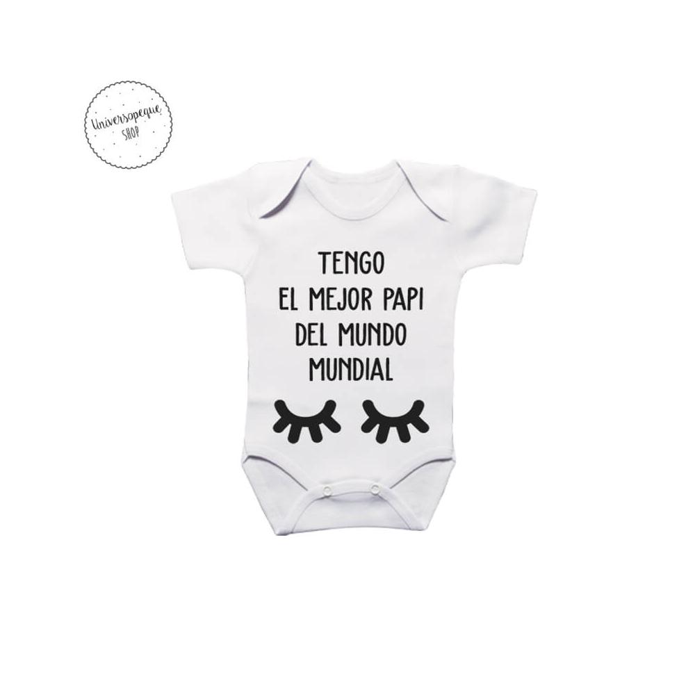 Body para bebés Bigote