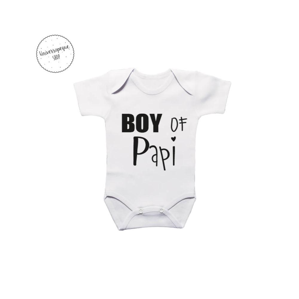 Body Personalizado para bebés Boy