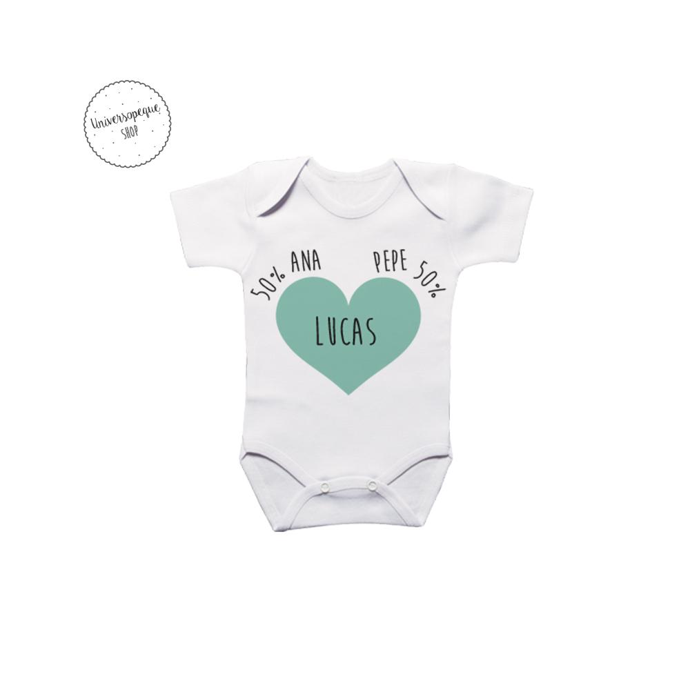 Body Personalizado para los bebés Porcentajes
