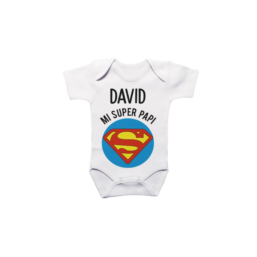 Body Personalizado para el bebé Superman