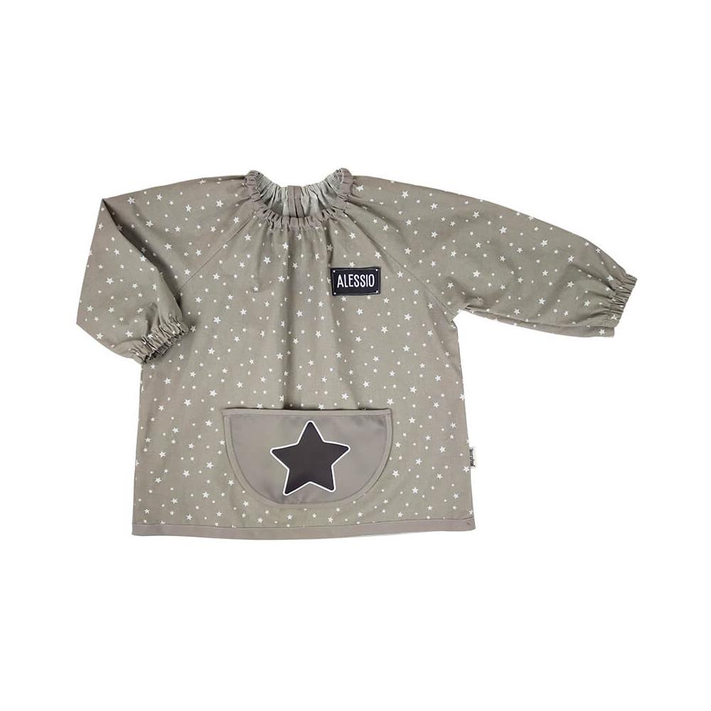 babi bata escolar personalizado estrellas