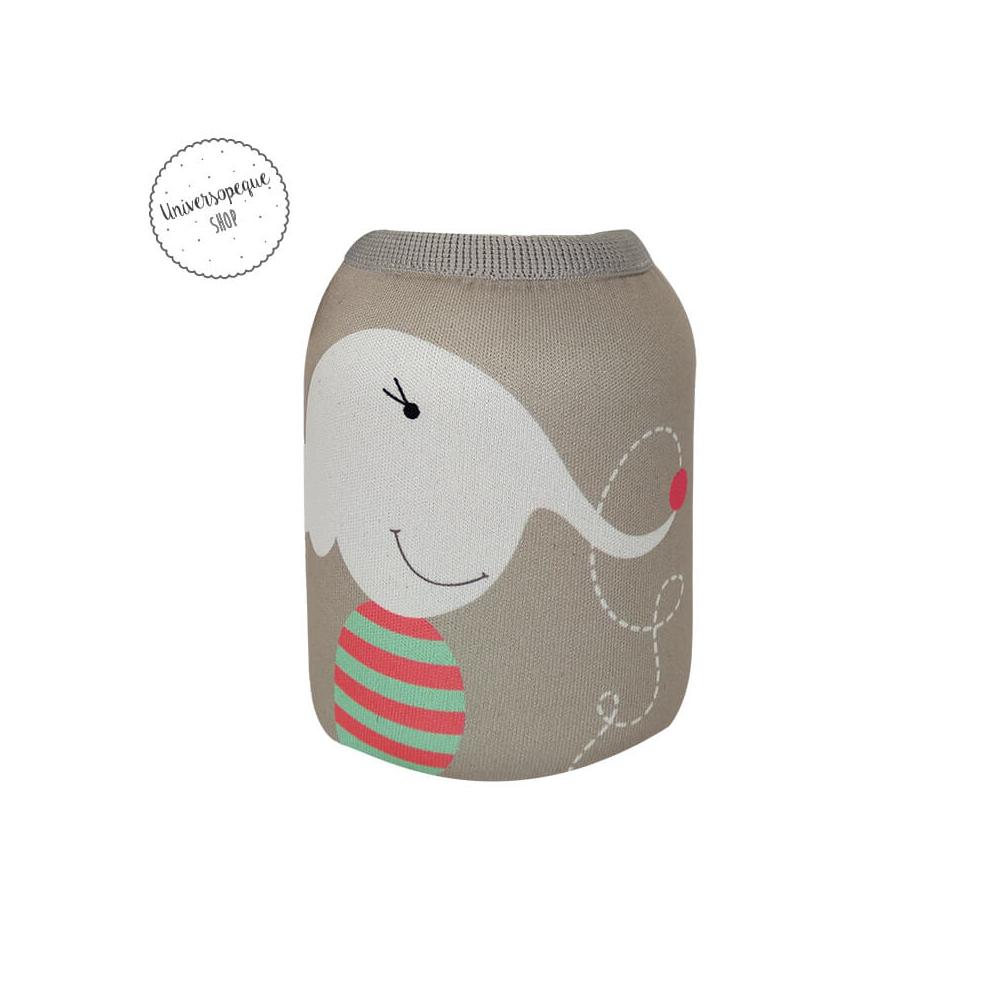 funda neopreno con el dibujo de un elefante