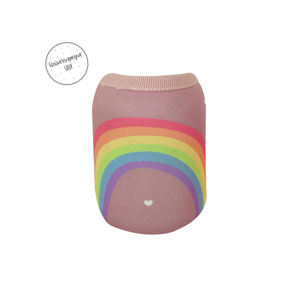 funda arco iris personalizada