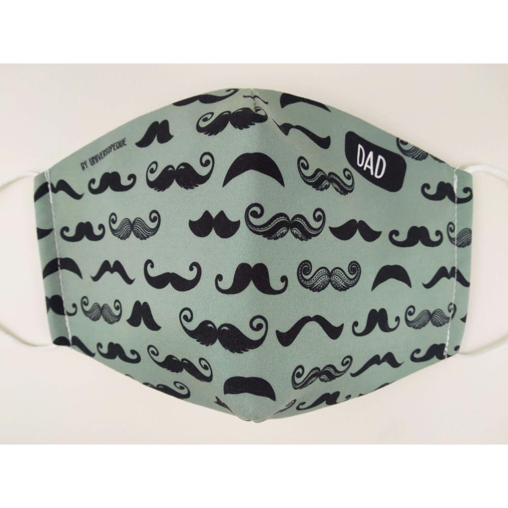 mascarilla bigotes personalizada