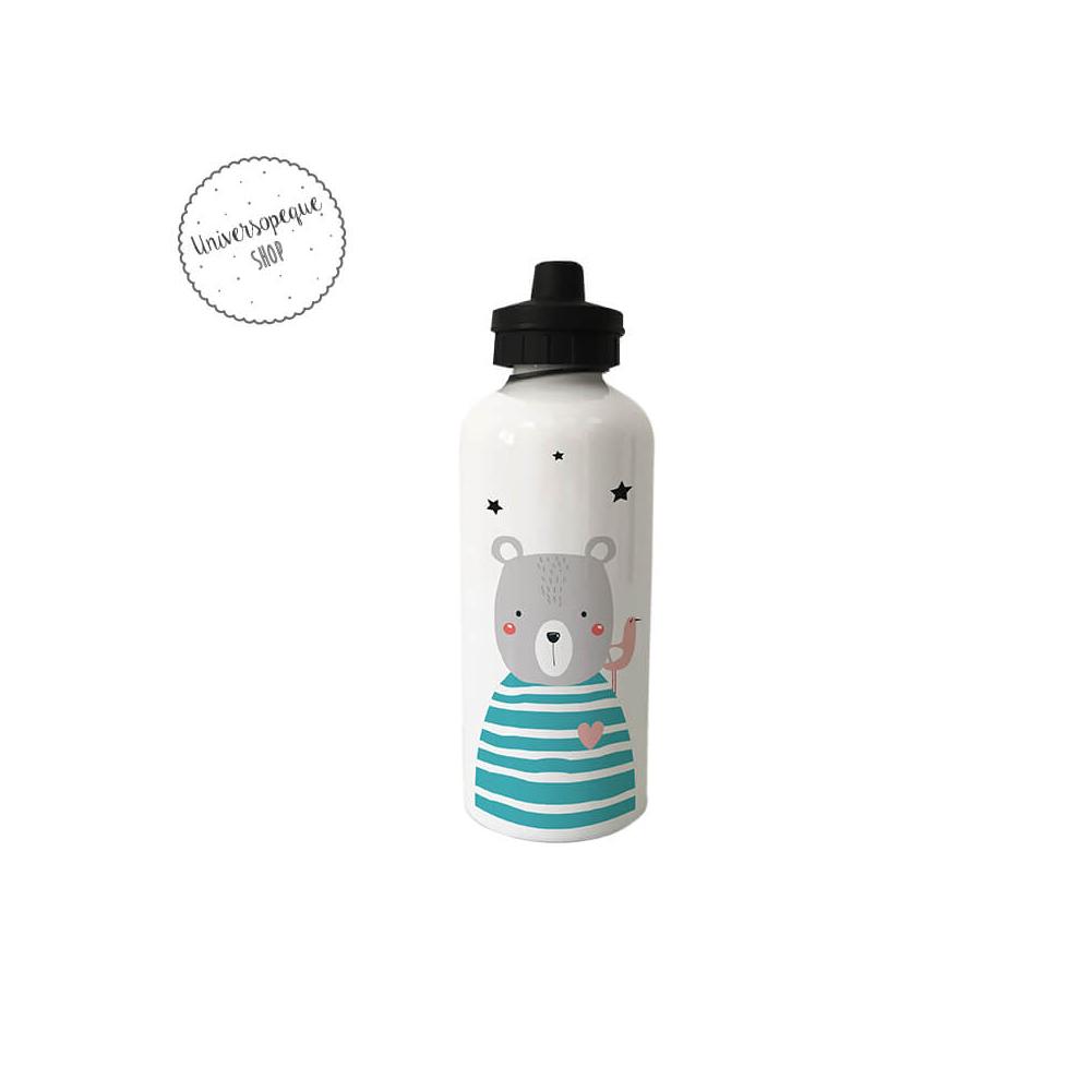 Botella Infantil Personalizada Oso
