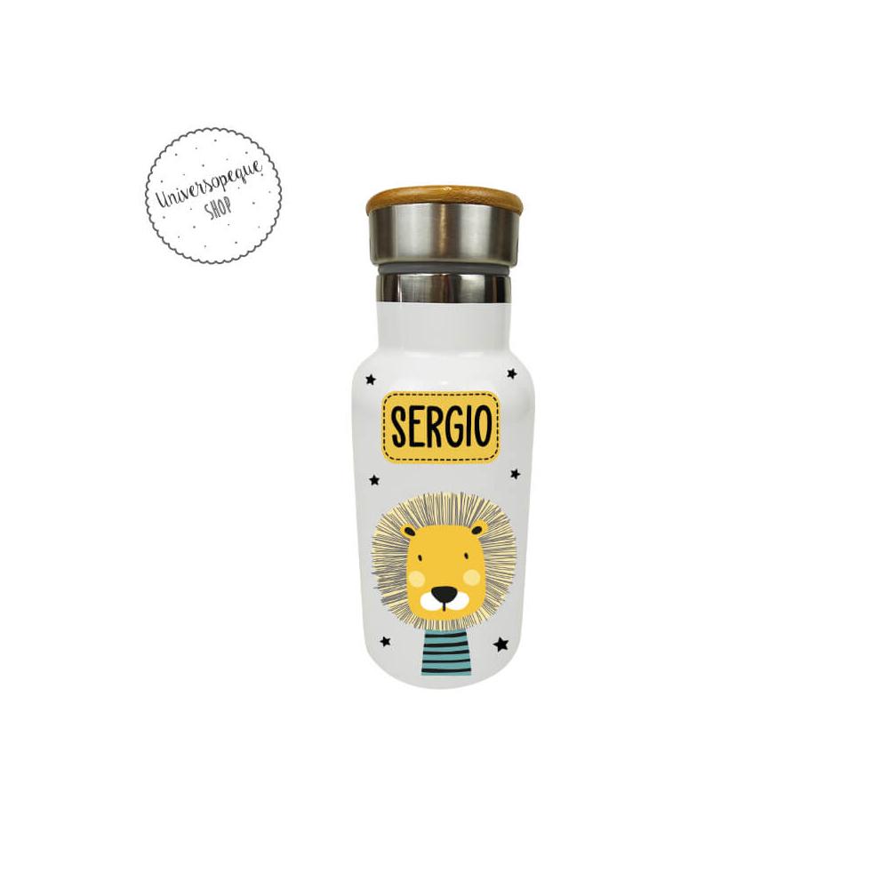 Botella Personalizada León Animales