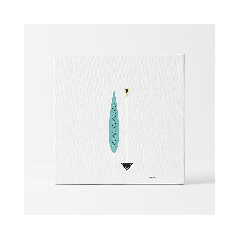Lámina Infantil Pluma y Flecha decoración habitación Bebé o niño