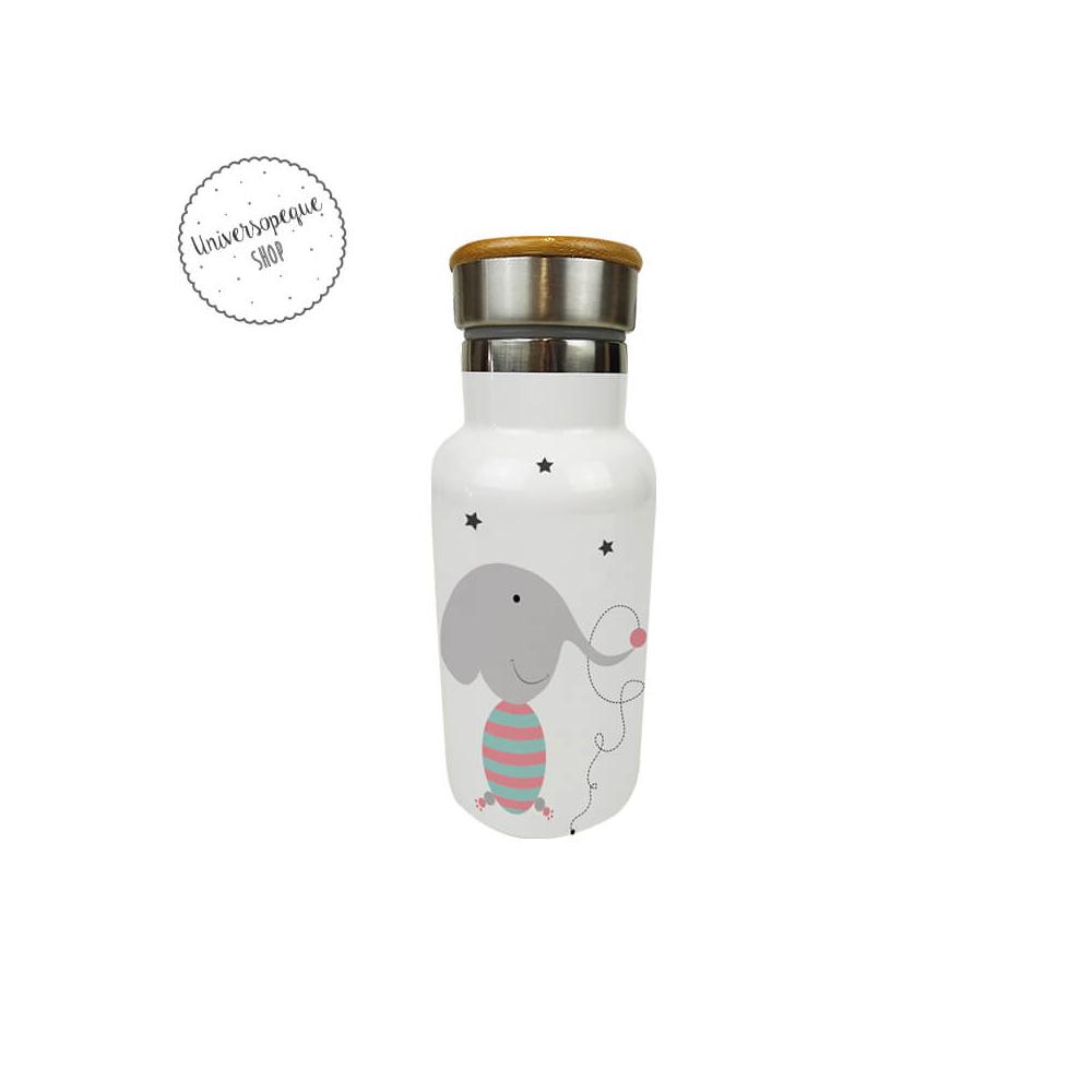 Botella Térmica Personalizada Elefantes