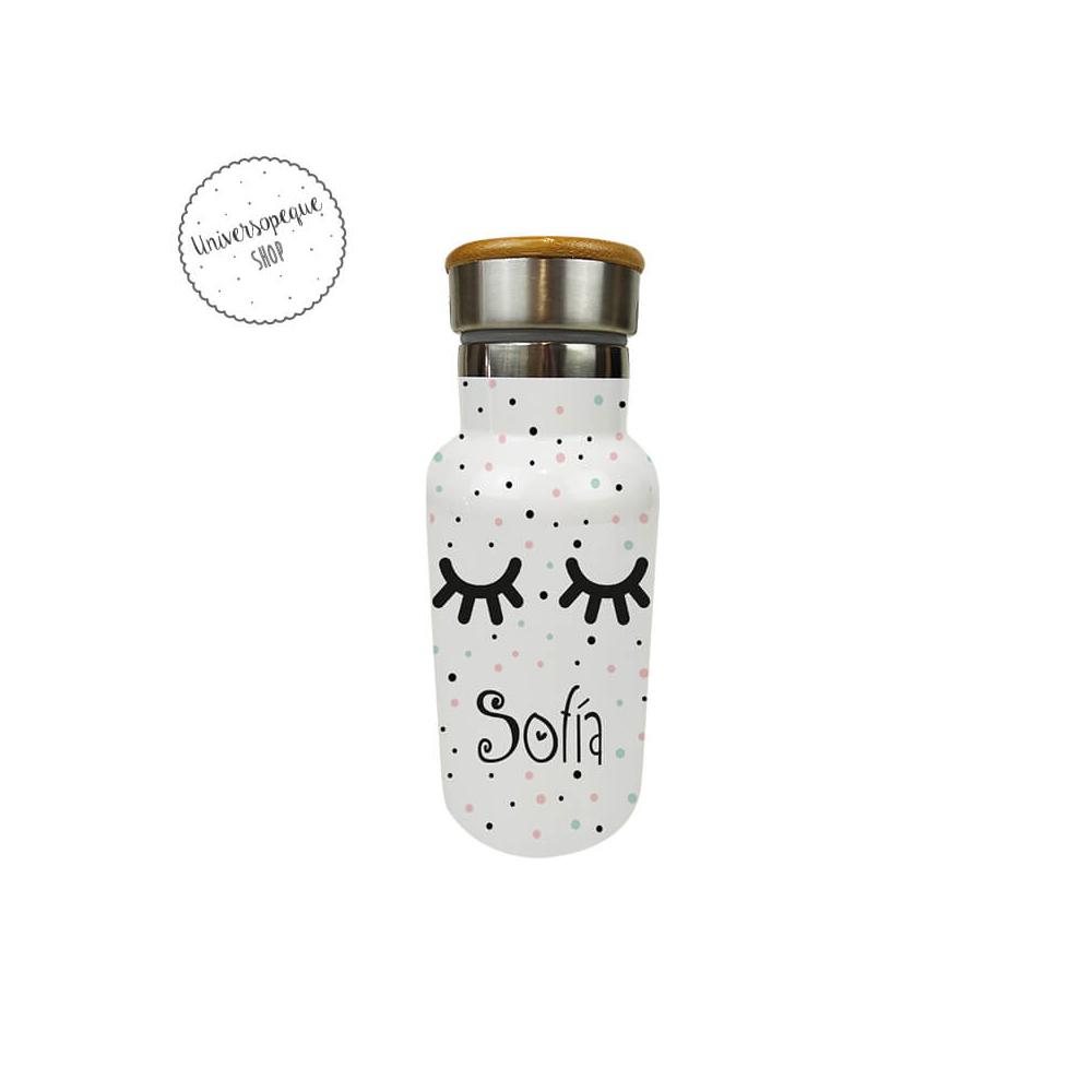 Botella Térmica Personalizada Pestañas