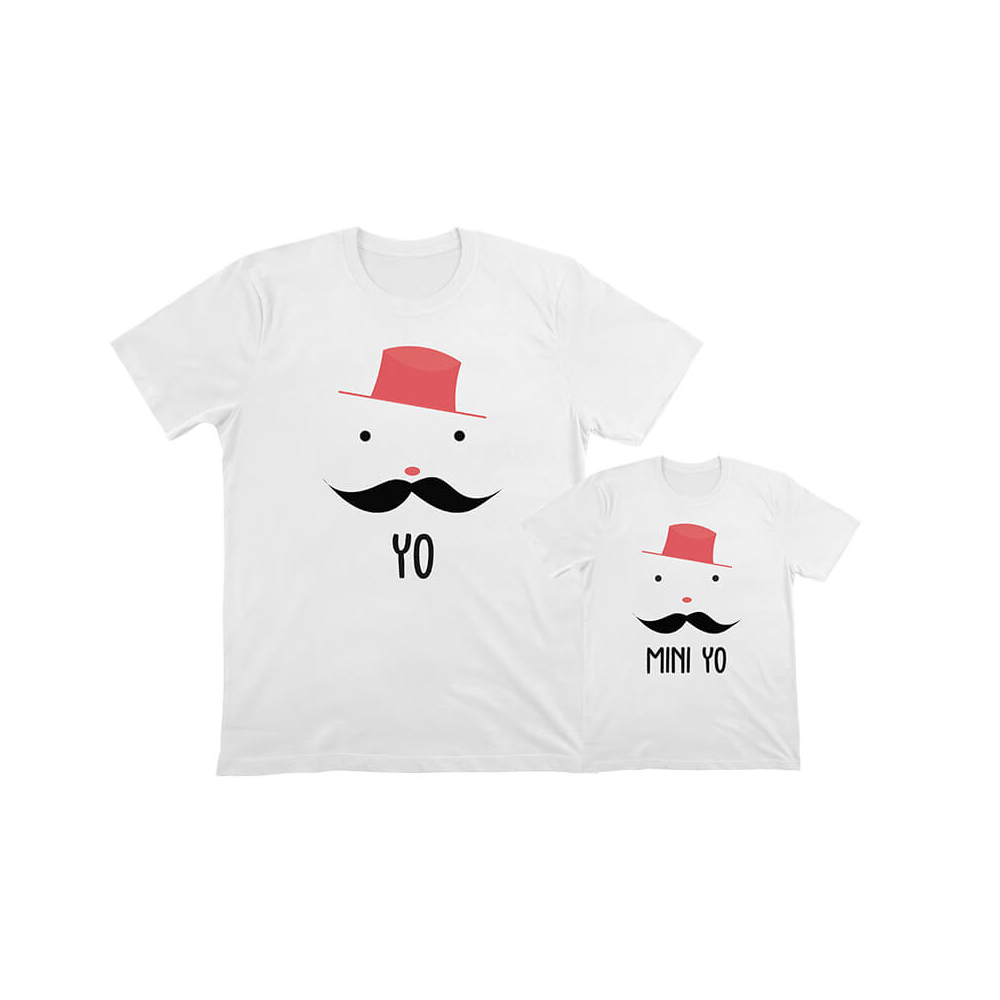 camiseta personalizada papa e hijo
