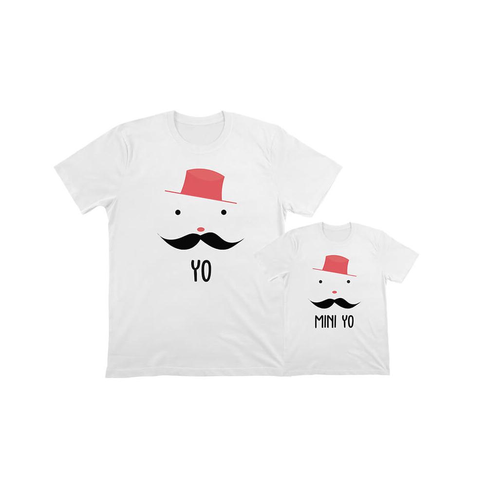 camisetas familiares iguales paera celebrar el dia del padre