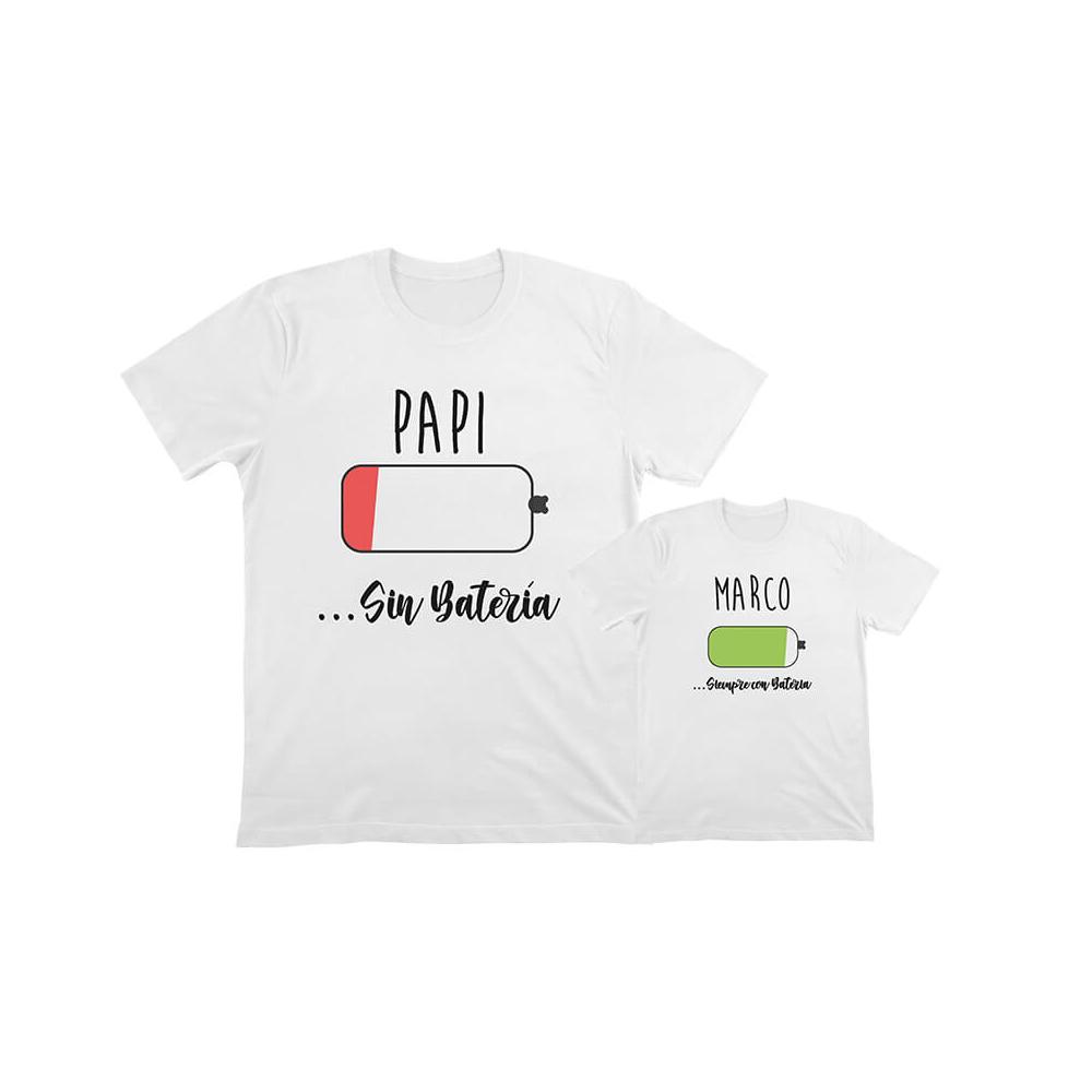 camisetas iguales para padres e hijos