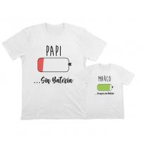 camisetas iguales bateria