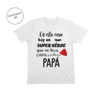 camiseta personalizada super heroe