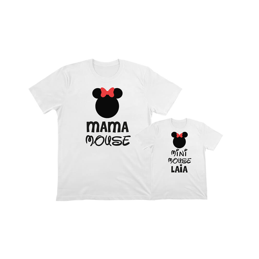 pack camisetas iguales minnie