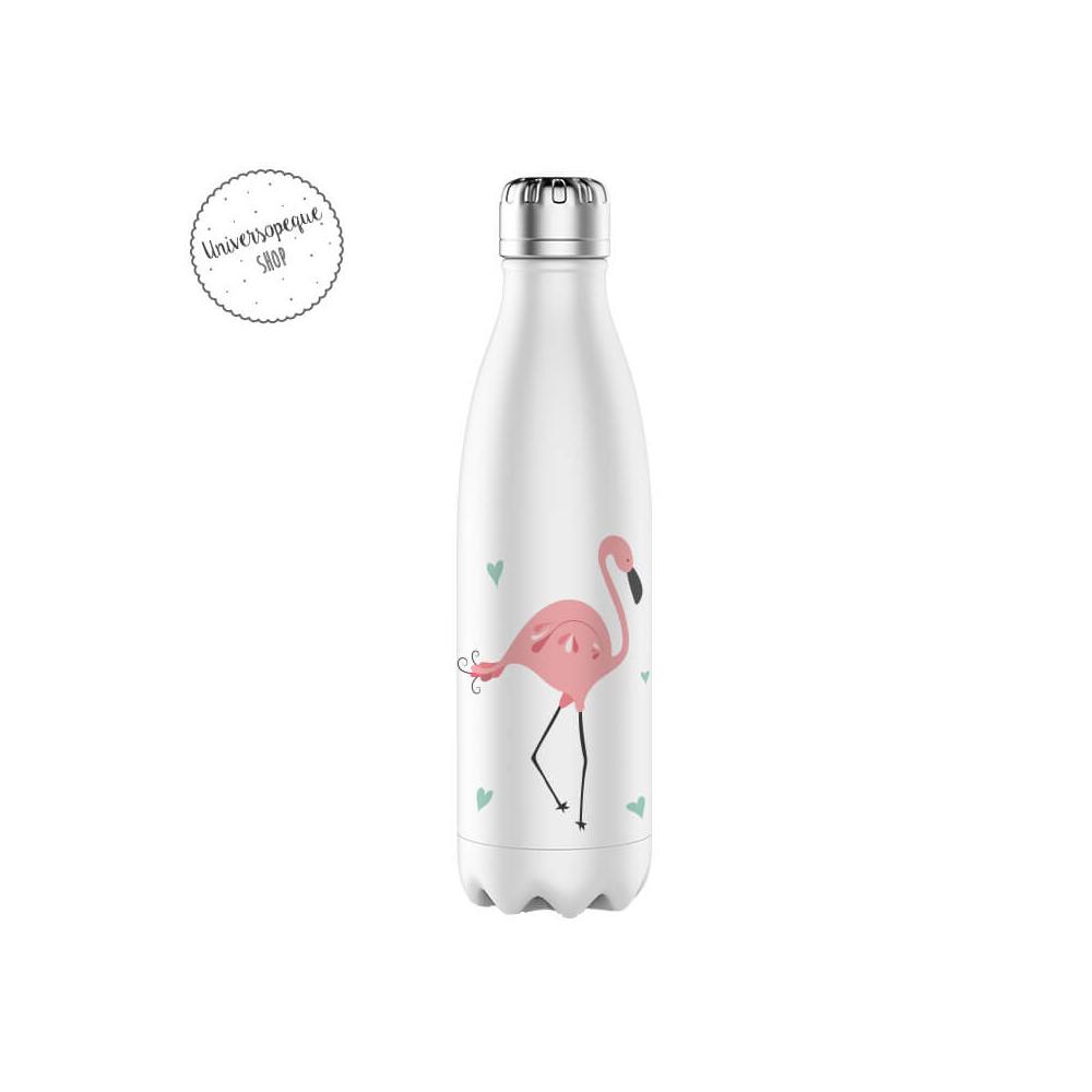 botella acero flamenco