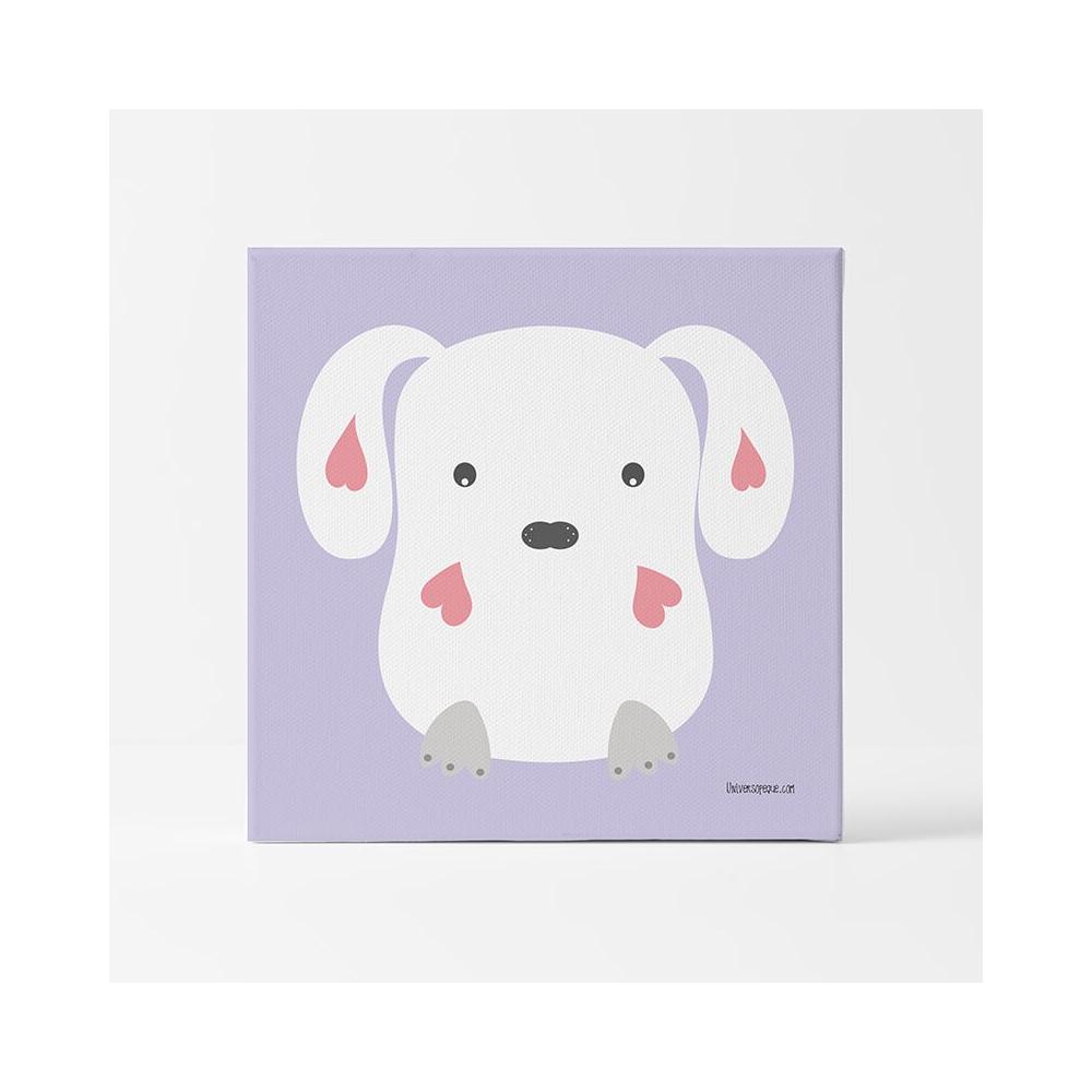 Lámina Infantil Animal Conejo Amoroso cuadro infantil bebe
