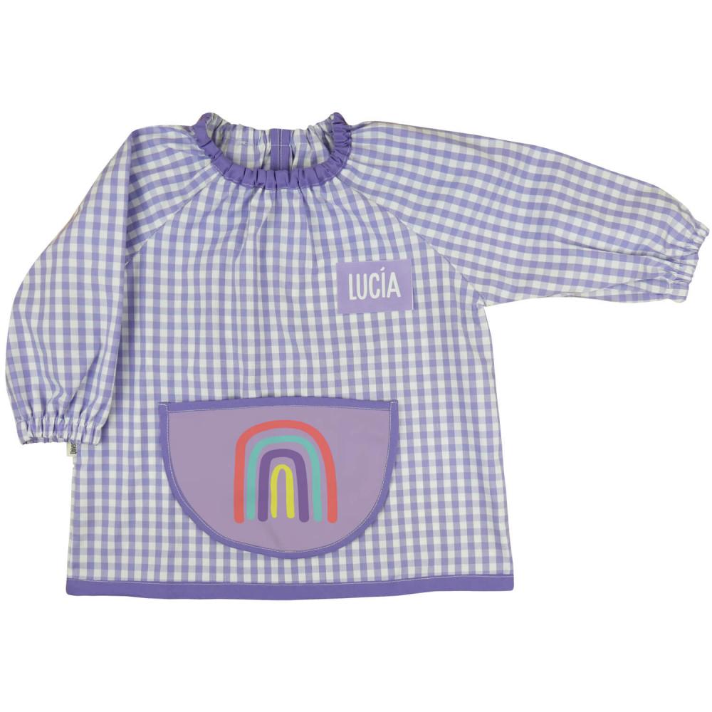 Babi Bata Escolar Personalizada Violeta