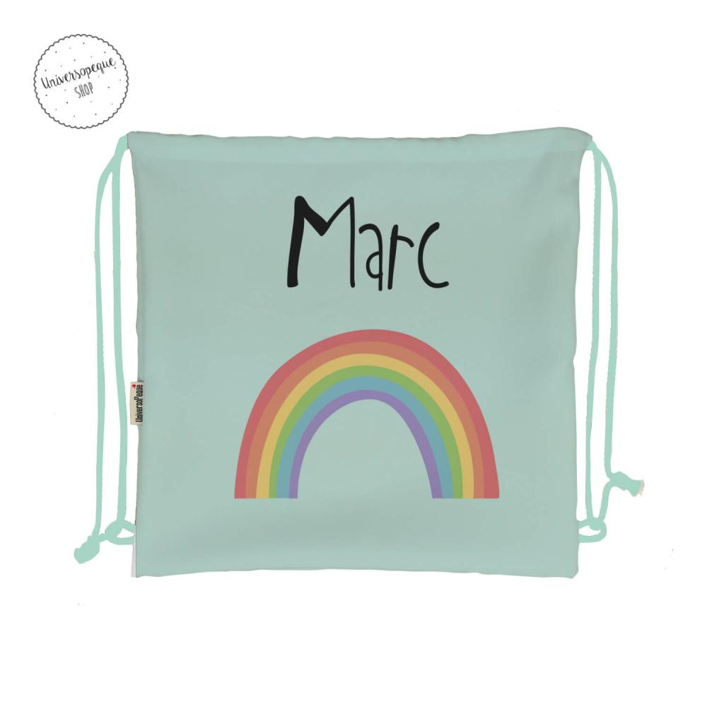 mochila arco iris