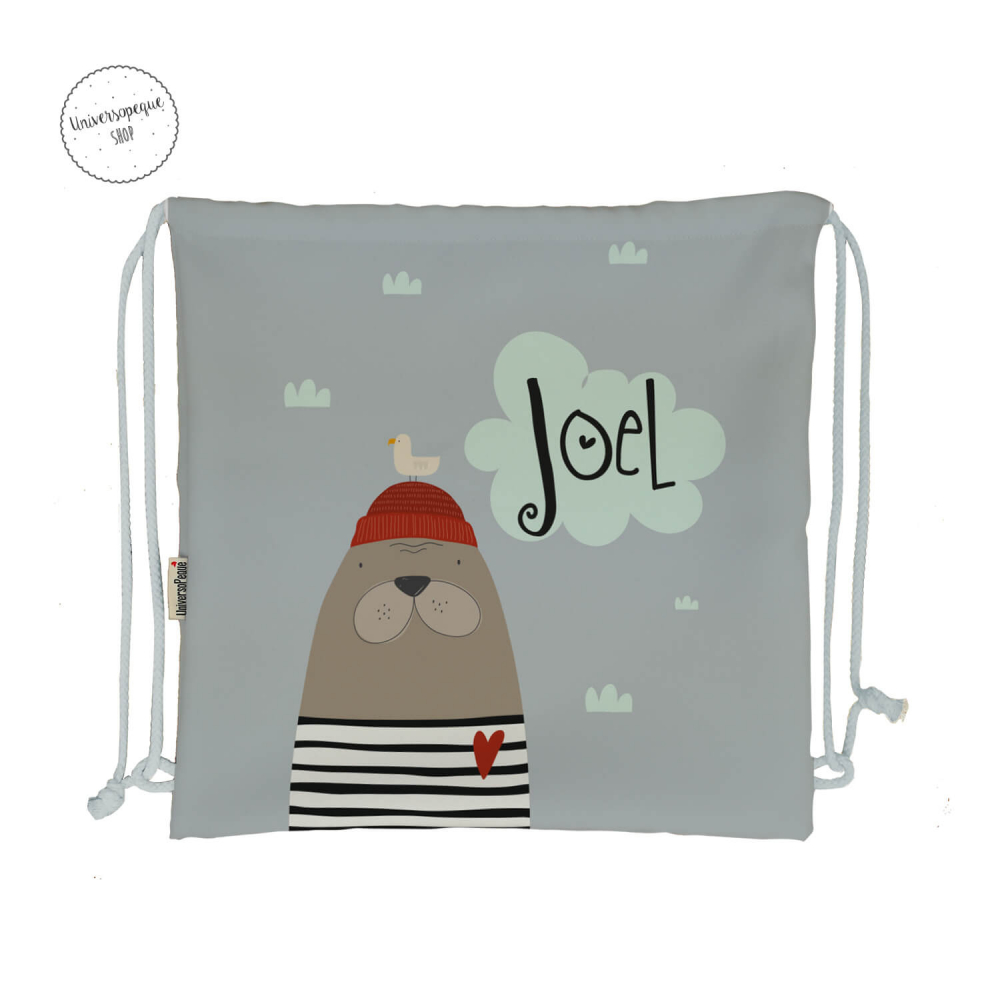 mochila personalizada Foca
