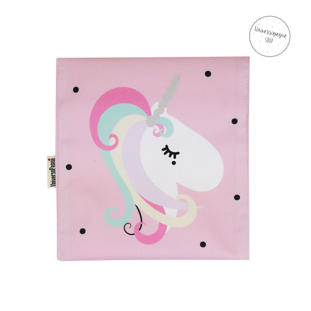 bolsa snack unicornio