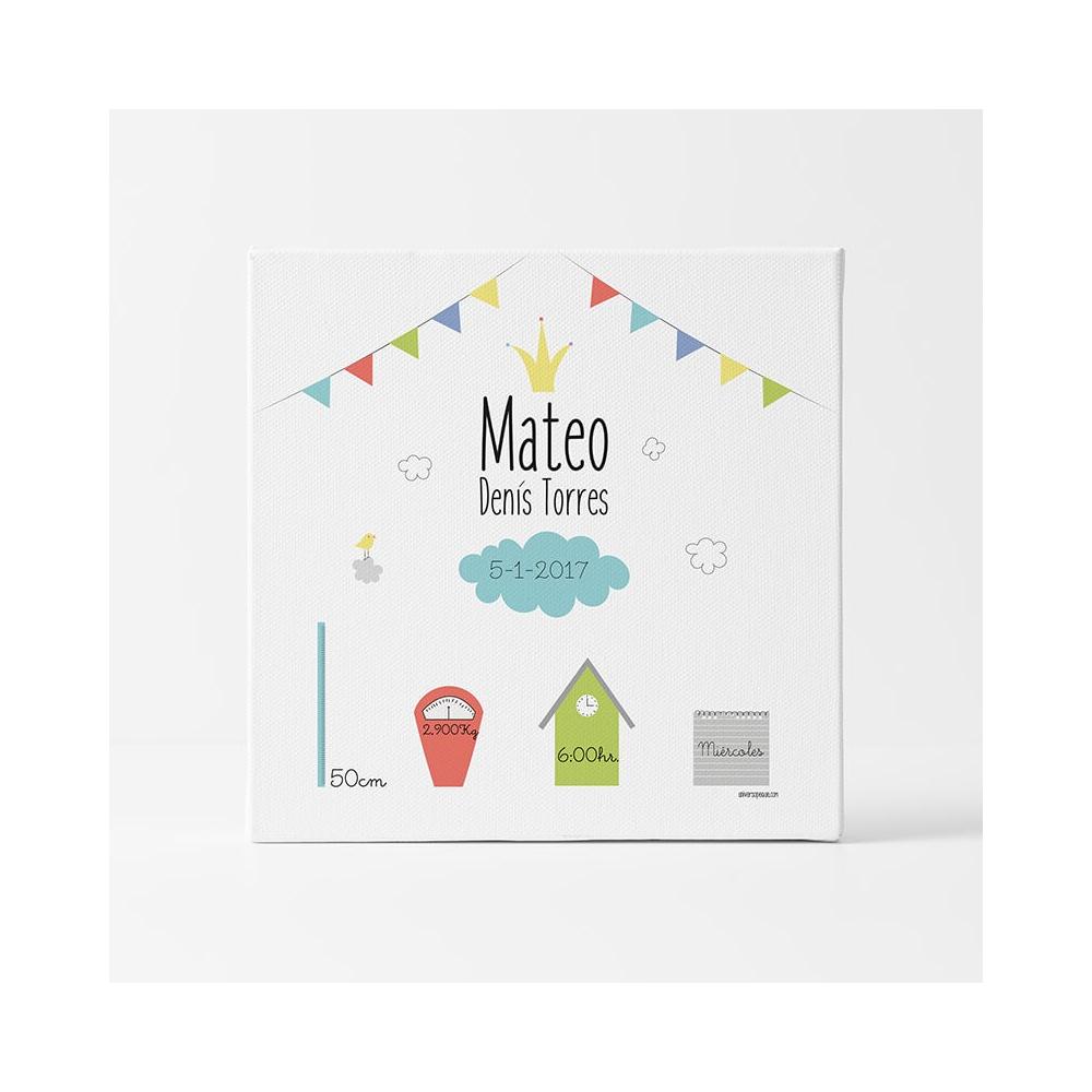 Natalicio Personalizado Banderines regalos para bebés