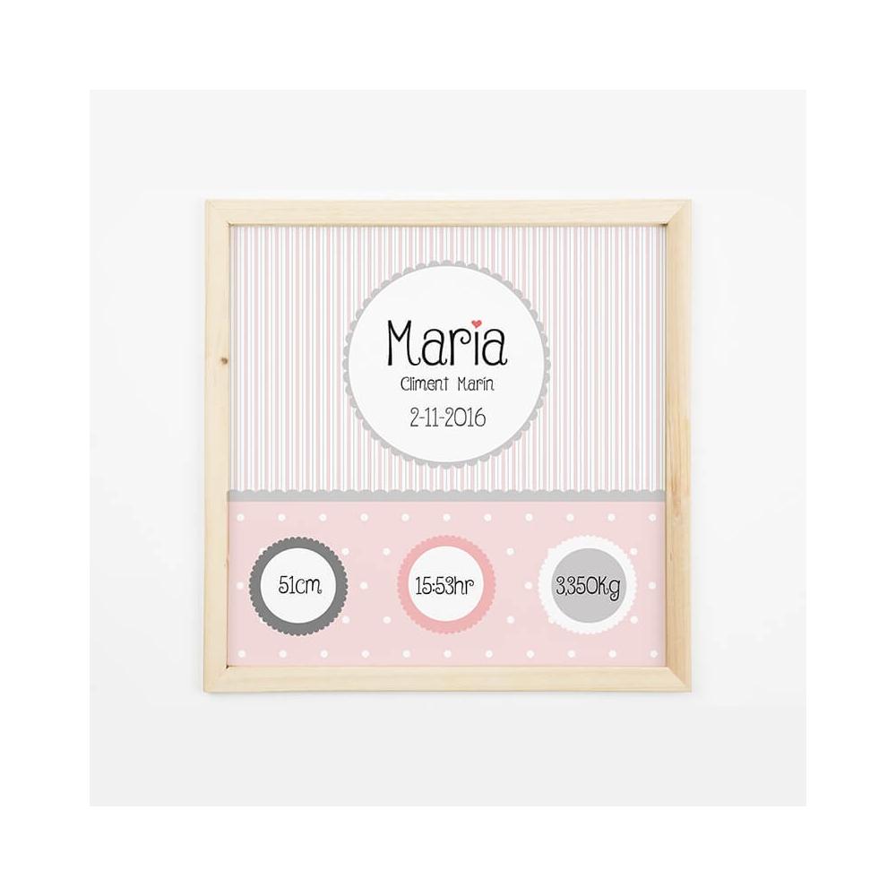 Natalicio Personalizado Rosa Regalos para Bebés