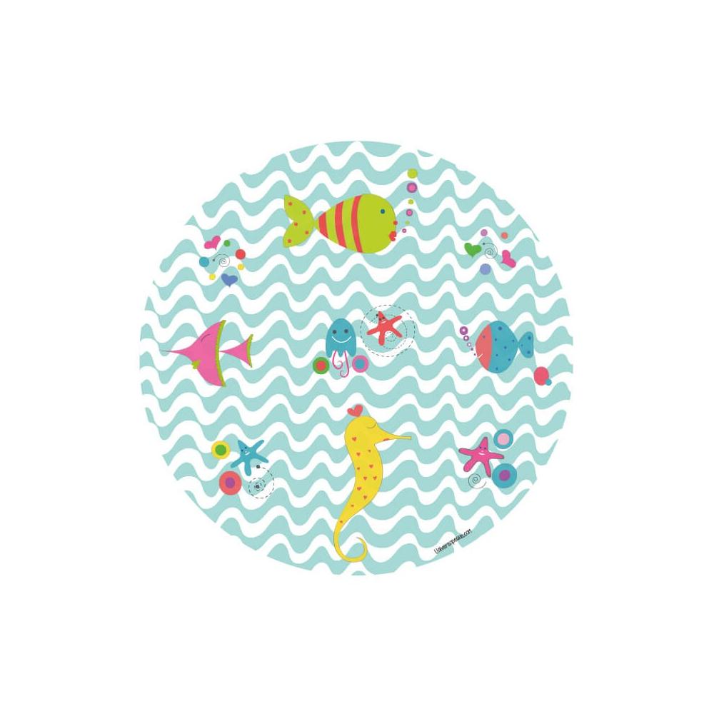 vinilo infantil animales marinos para niños