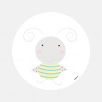 Vinilo Infantil Animal Mariquitin vinilo decorativo para habitación infantil